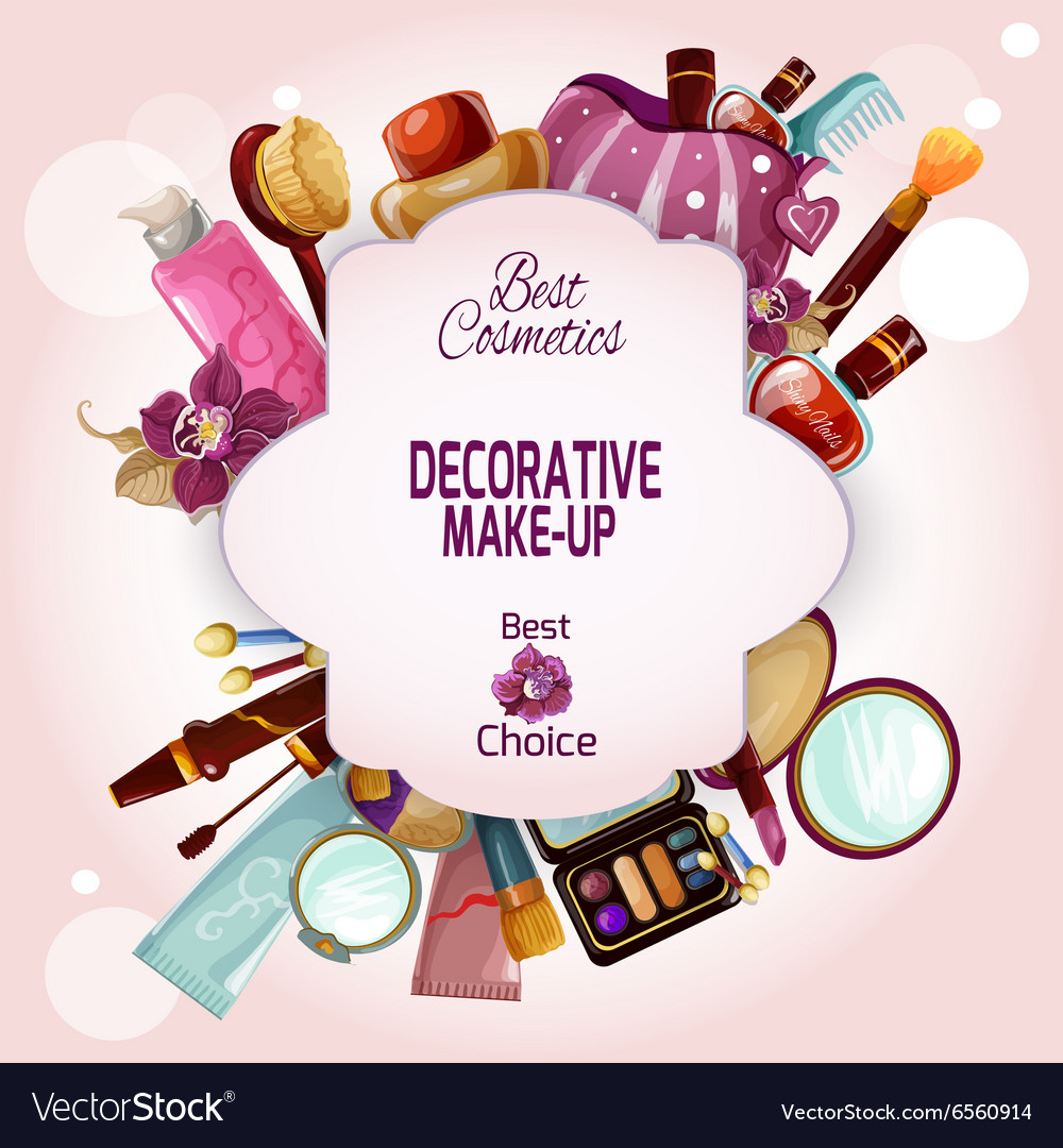 Make-up Concept vector image