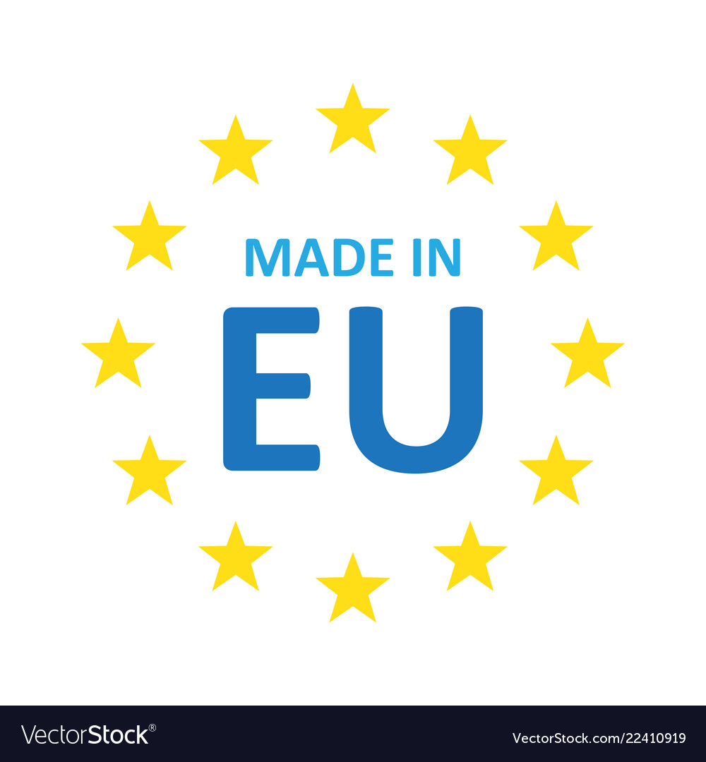 Wonderlijk Made in europe icon Royalty Free Vector Image - VectorStock OL-19