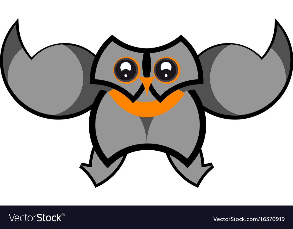 Owl icon design vector image