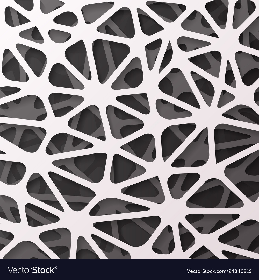Paper web abstract geometric wallpaper