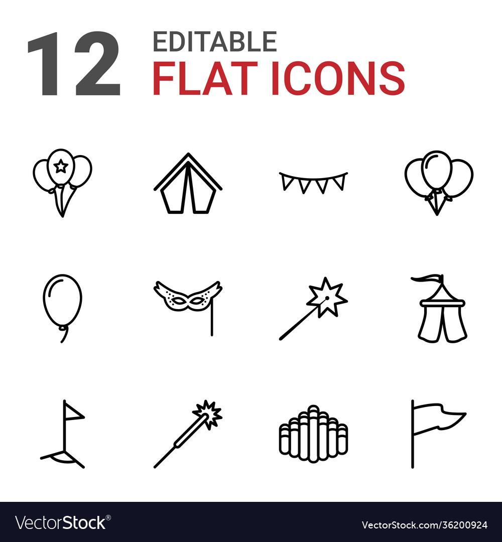 12 festival icons