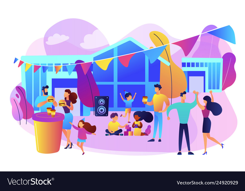 Street party concept