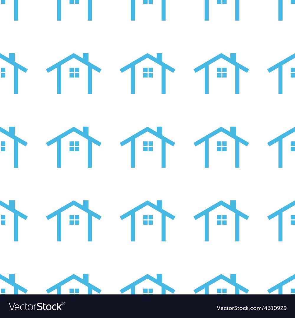Unique Home seamless pattern