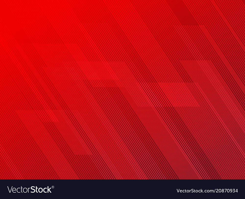 Abstract lines pattern technology on red