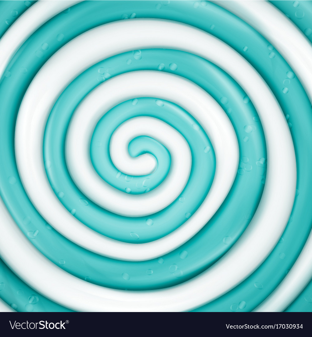 Lollipop background blue round sweet candy vector image