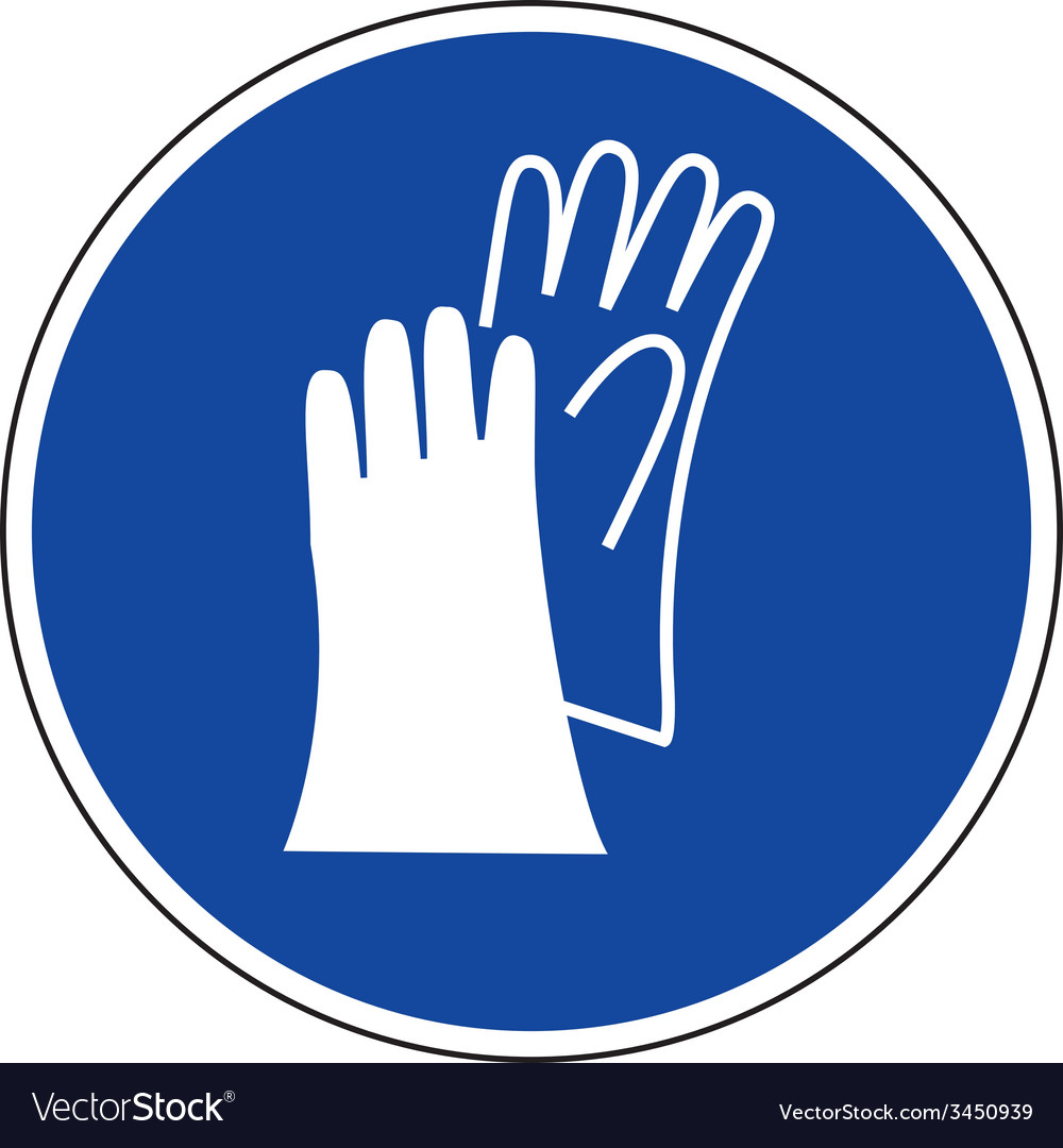 Protective Gloves Symbol Clipart Library