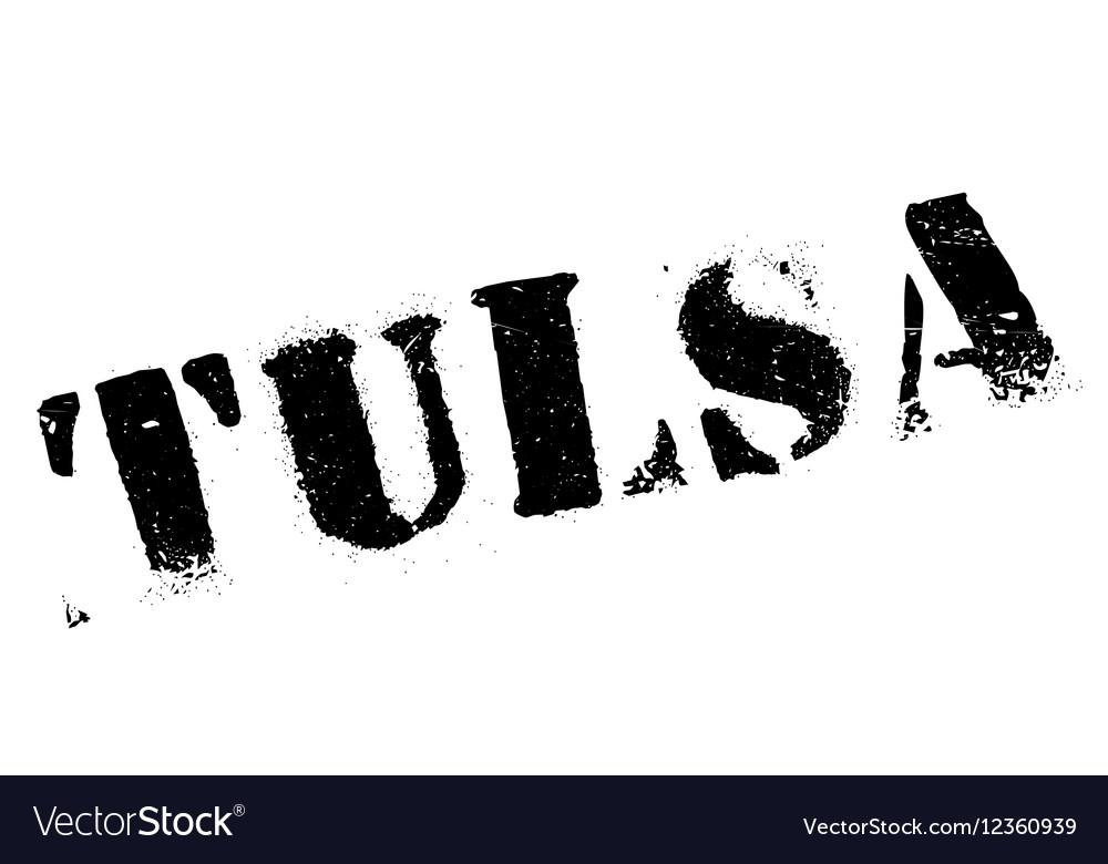 Grunge Camera Vector : Tulsa stamp rubber grunge royalty free vector image