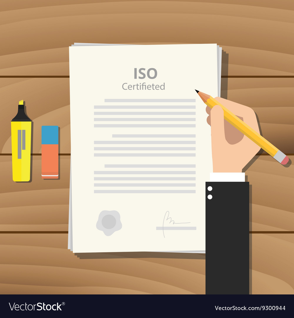Iso certified or certification