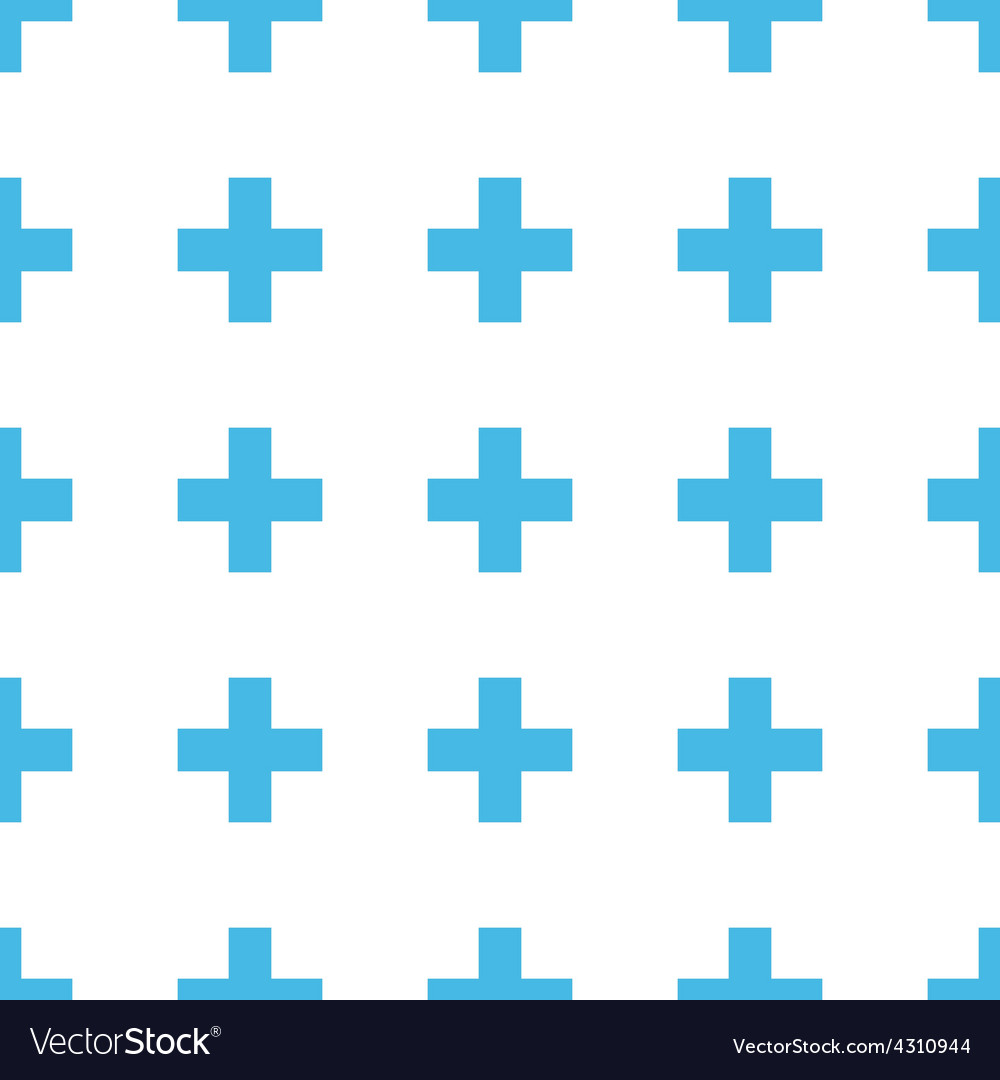 Unique Cross seamless pattern