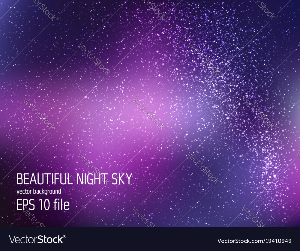 space background with stars universe royalty free vector