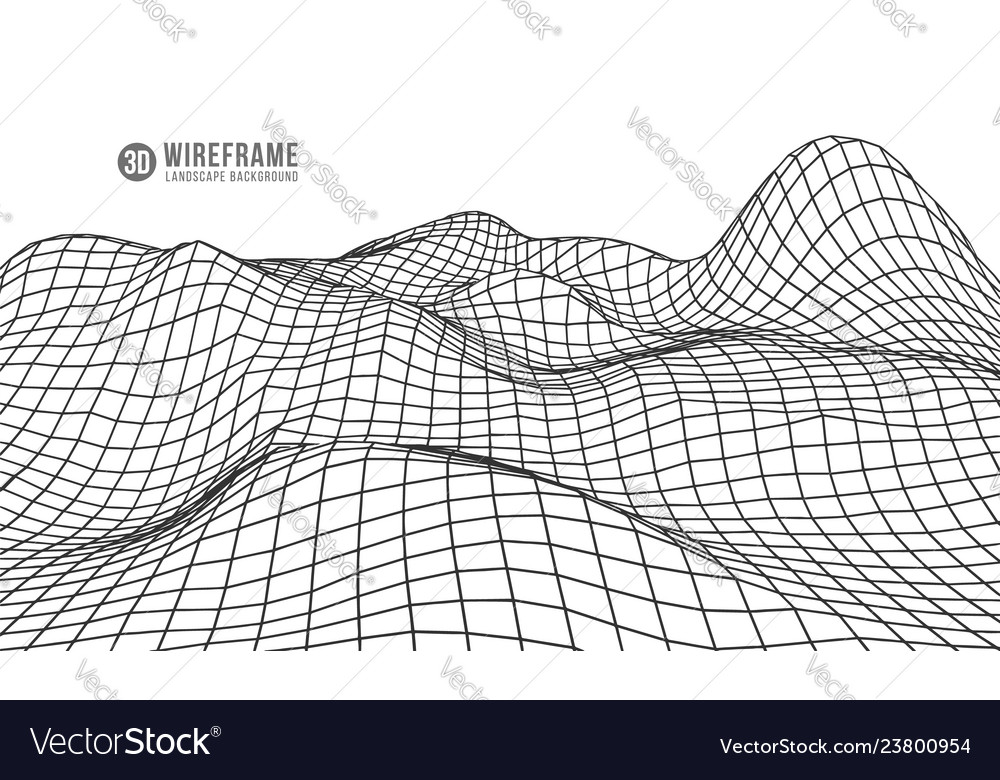 Abstract geometric background with digital