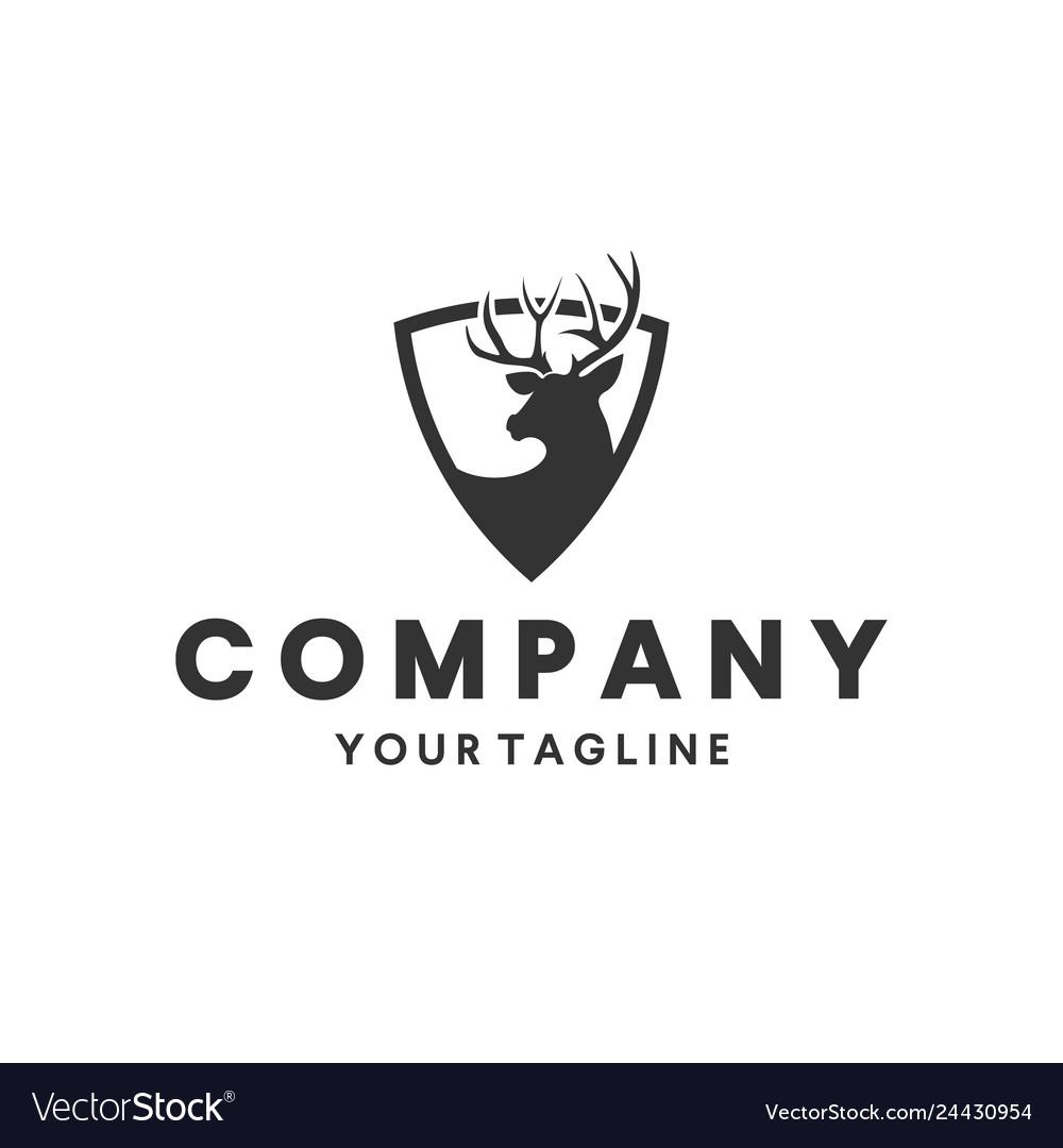 Deer hunting logo design inspiration