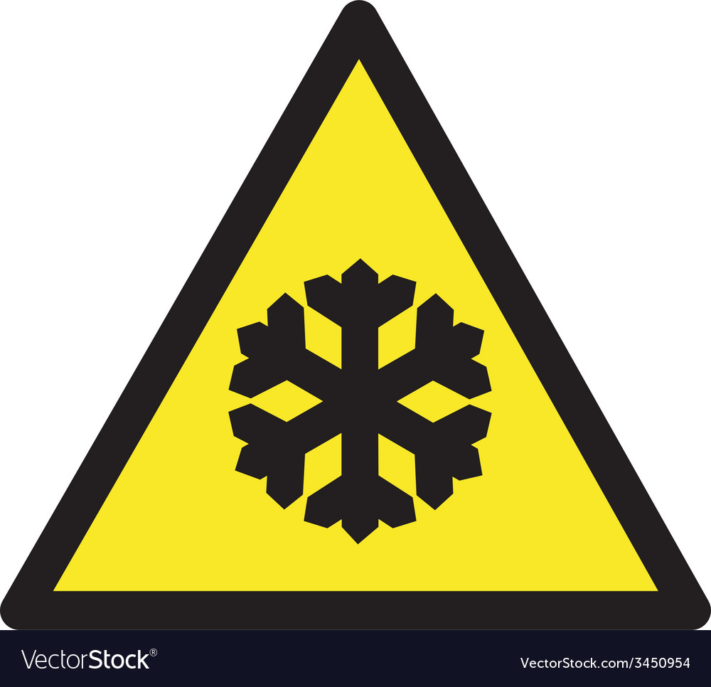Freezing Temperatures Safety Sign