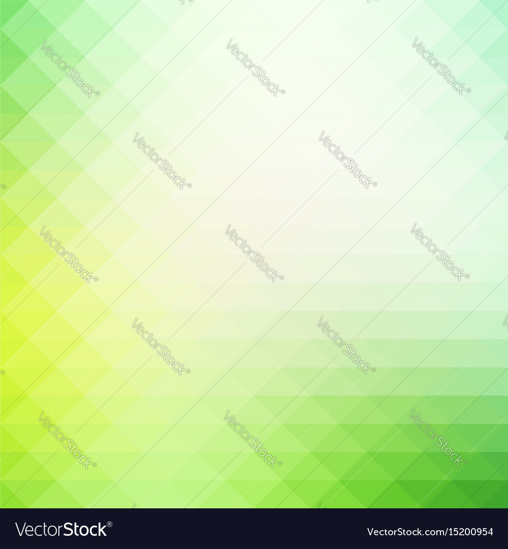 Light green shades rows of triangles background