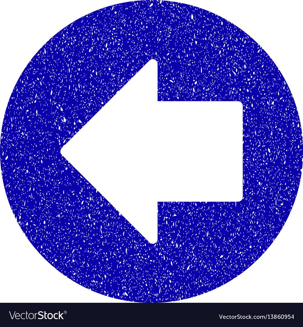 Previous arrow icon grunge watermark