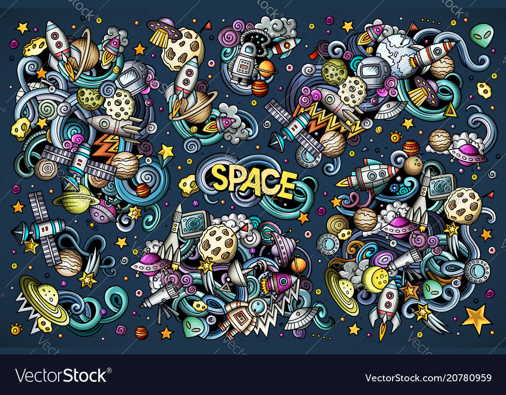 Set of space combinations of objects and