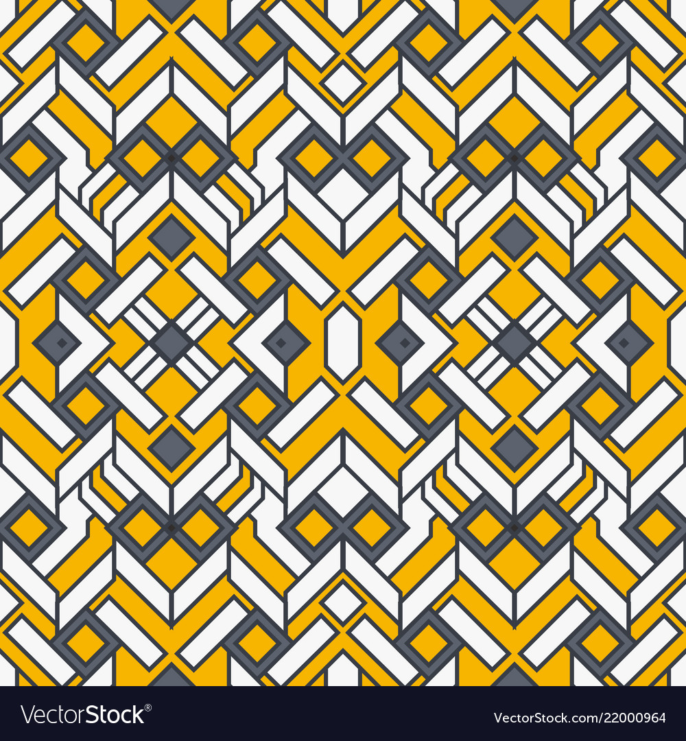 Abstract art geometric seamless pattern