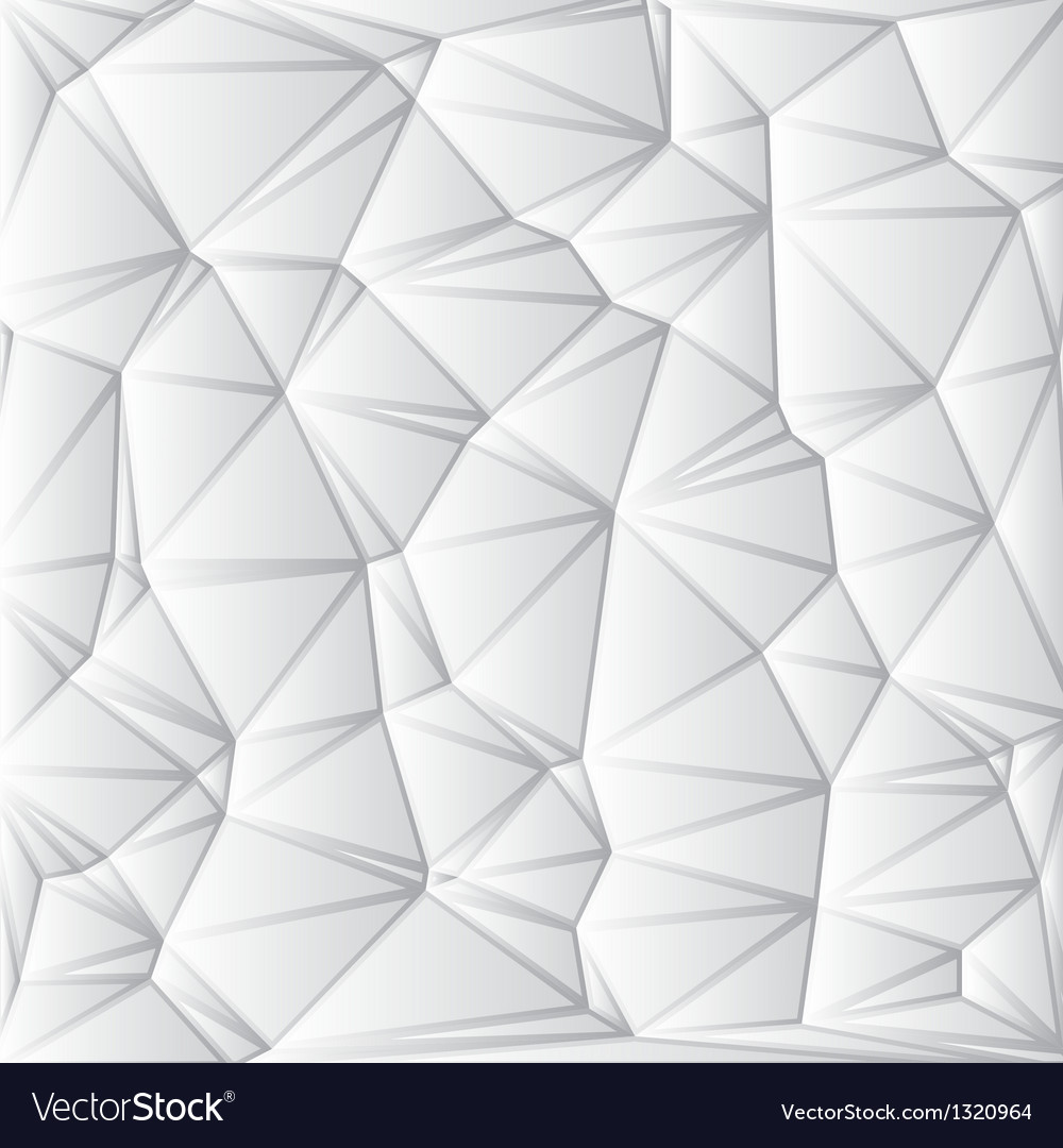 Abstract White Geometrical Background