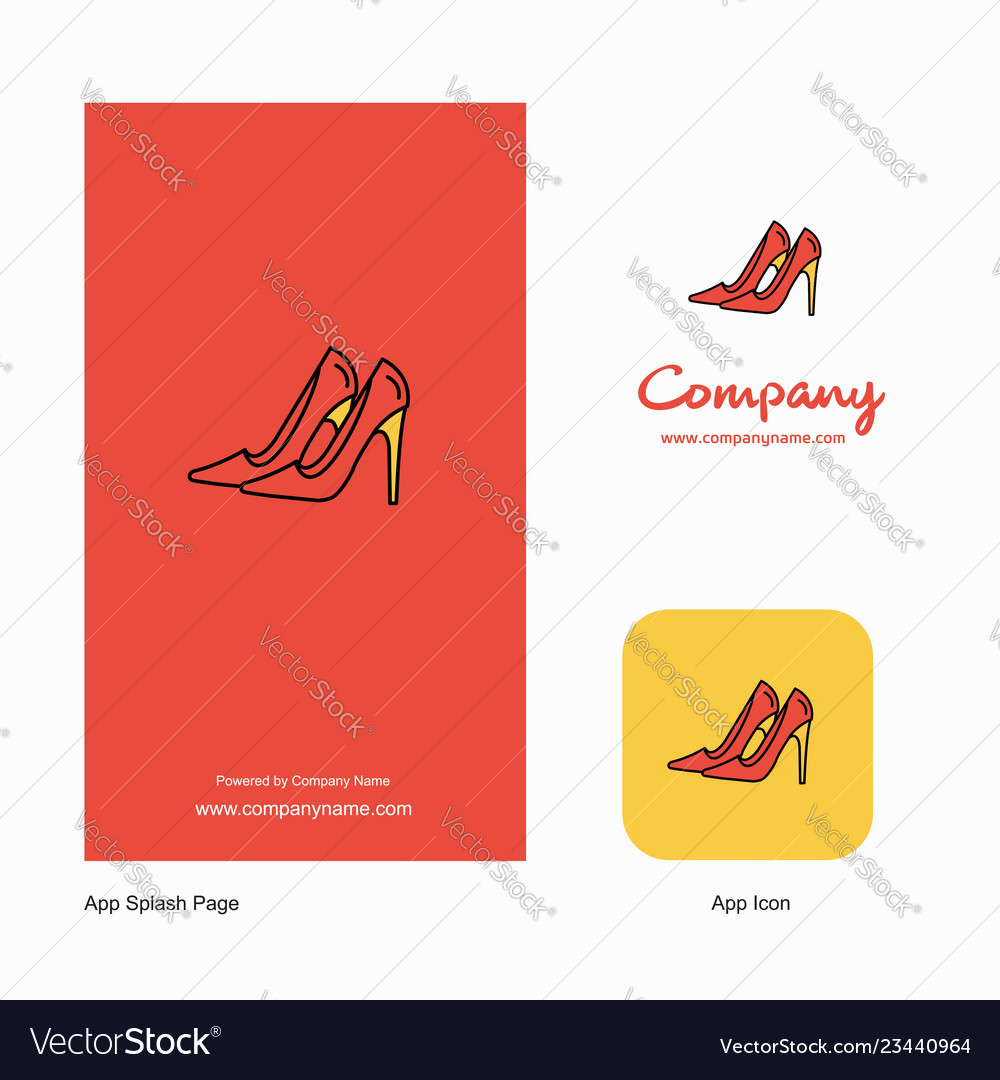ab5da60037afd Sandals company logo app icon and splash page Vector Image