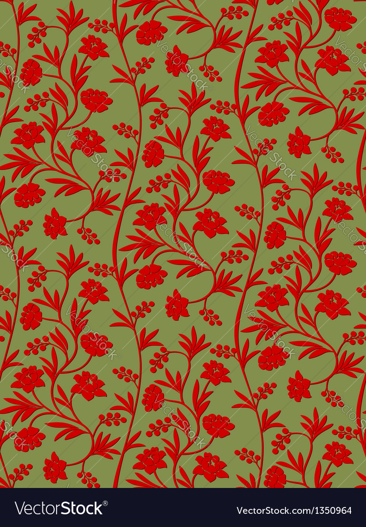 Seamless pattern russian ornament