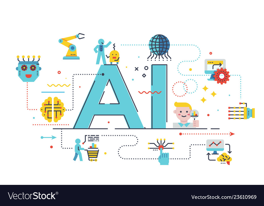 Ai artificial intelligence concept