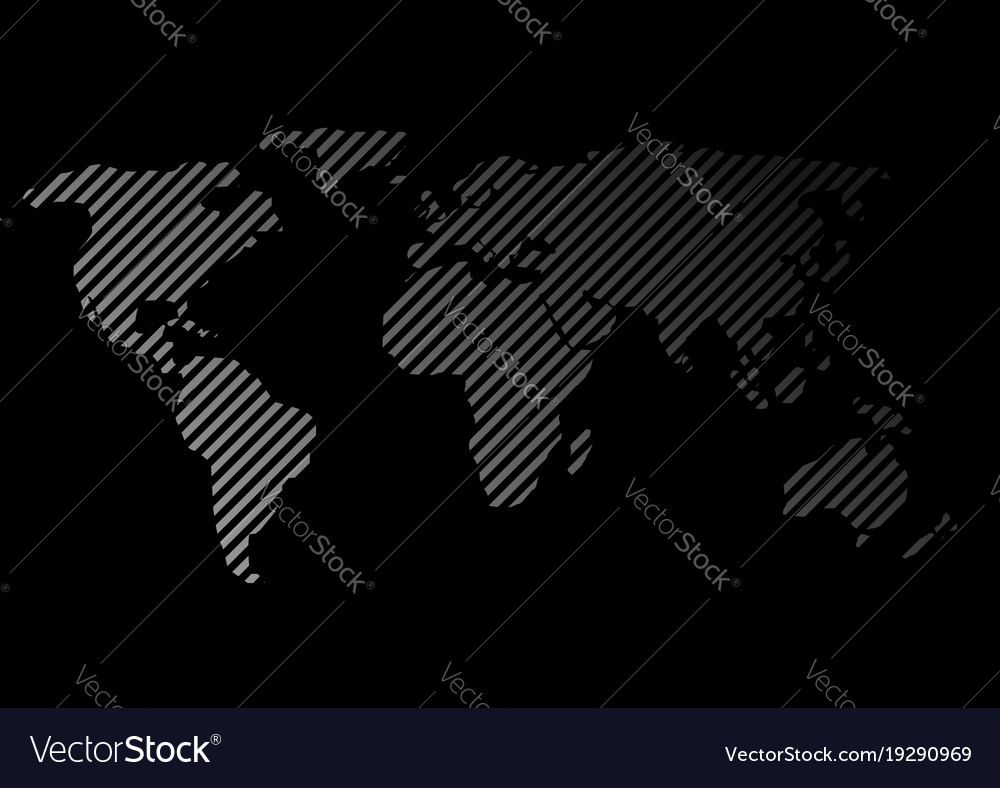 Striped world map royalty free vector image vectorstock striped world map vector image gumiabroncs Images