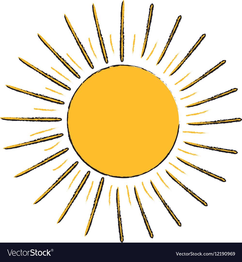 Sun burst light
