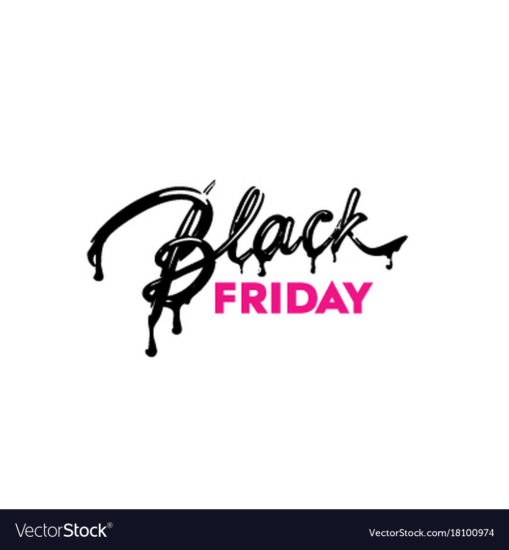 Black friday sale label ad