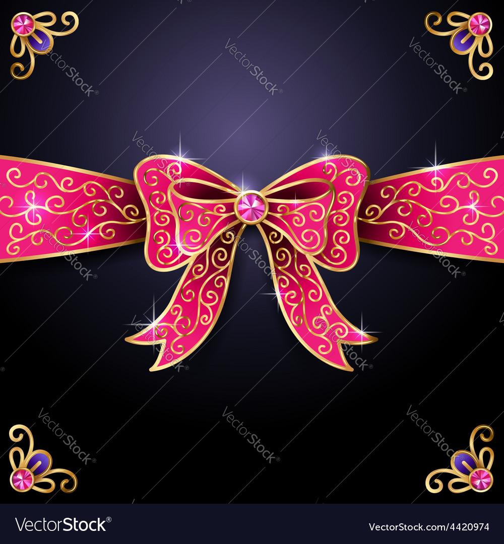 Jewel bow