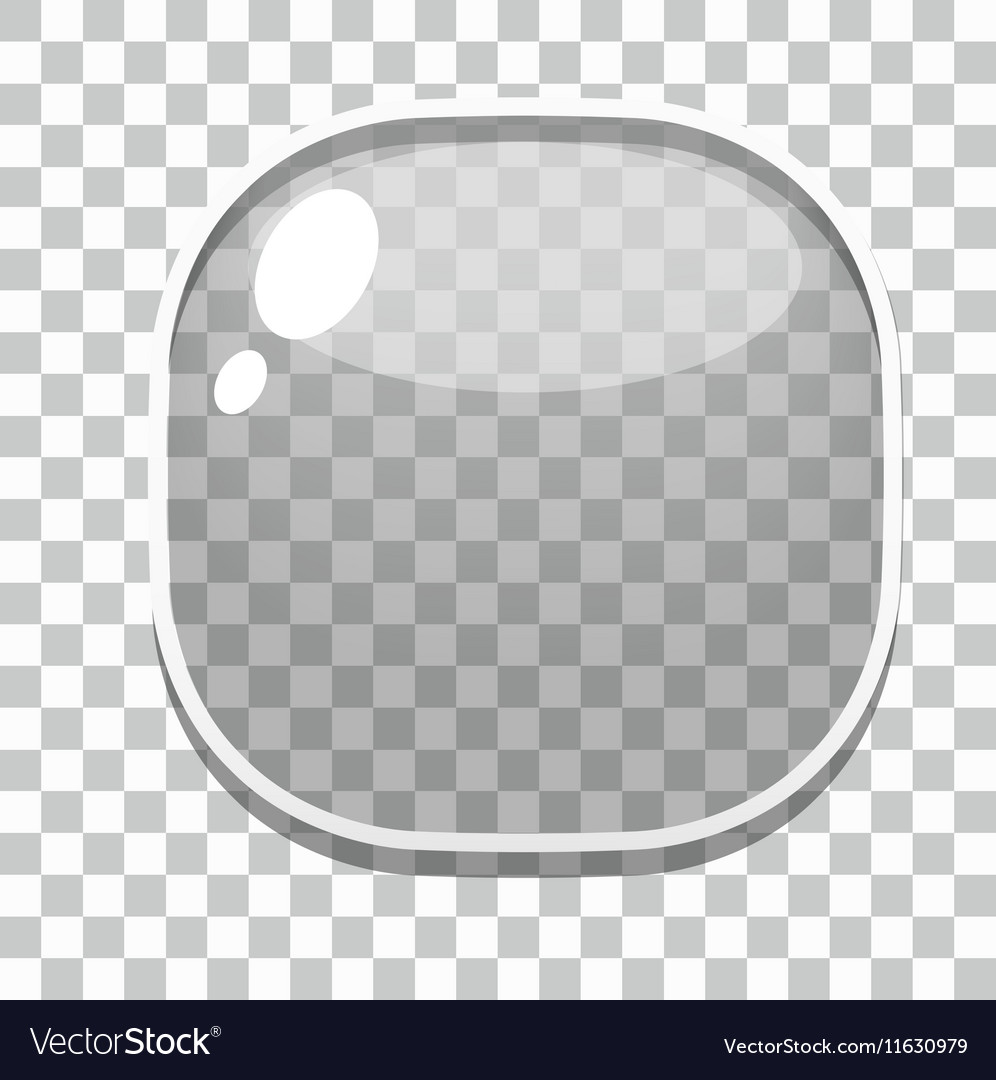 Glass button games template
