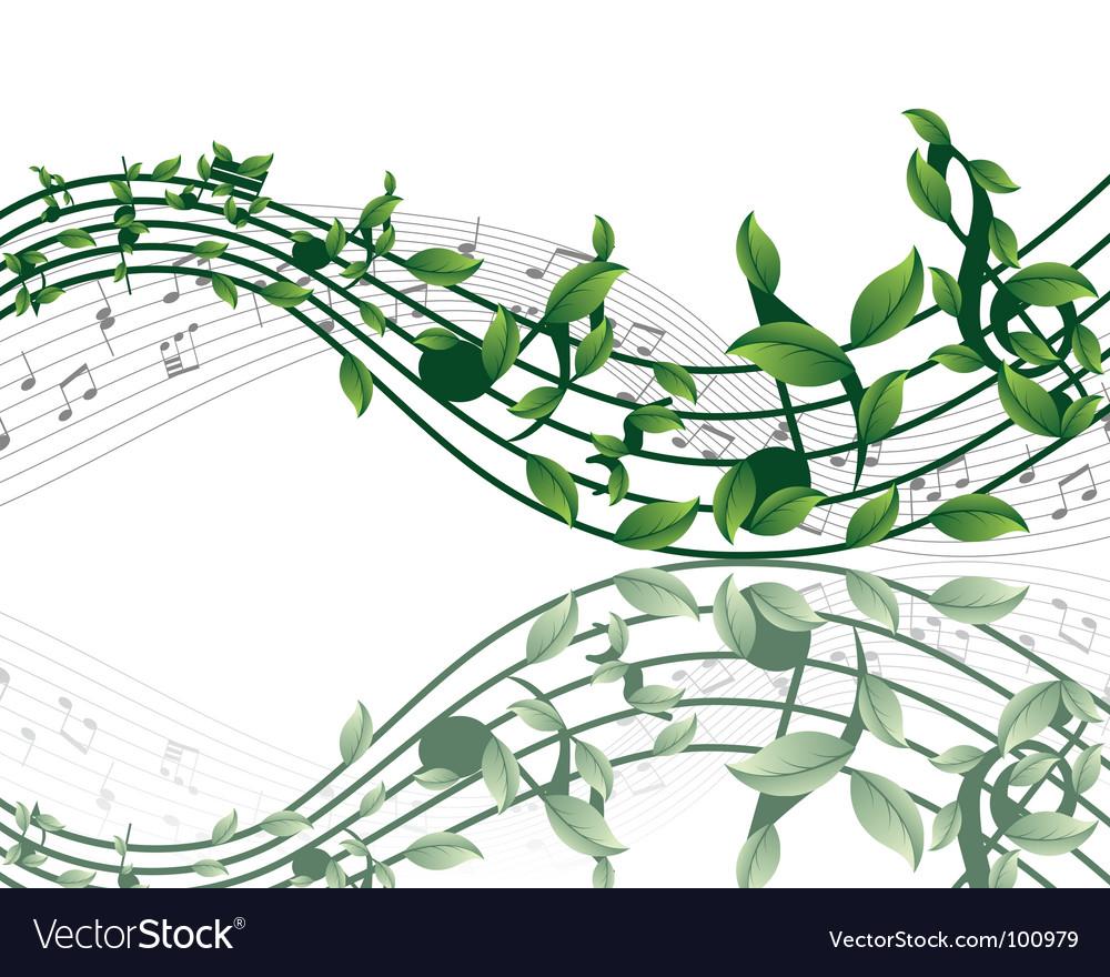 musical notes vector. Musical Notes Vector