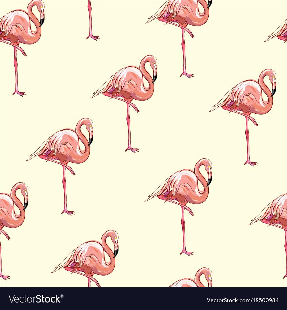 Beautiful seamless tropical pattern background