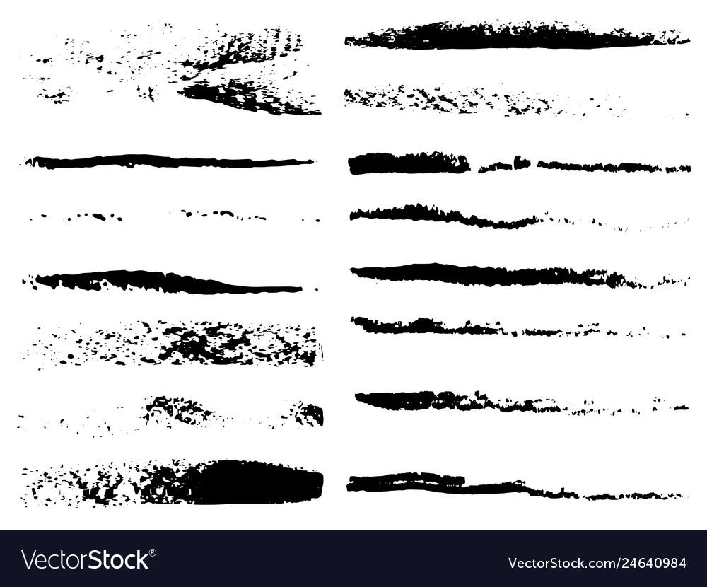 Set of grunge brushes