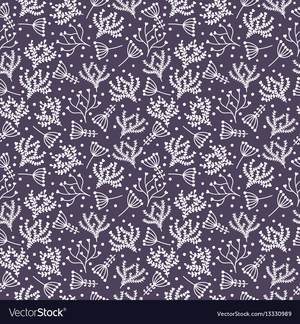 Cute spring background seamless floral pattern