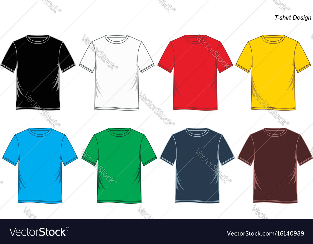 T shirt colorful