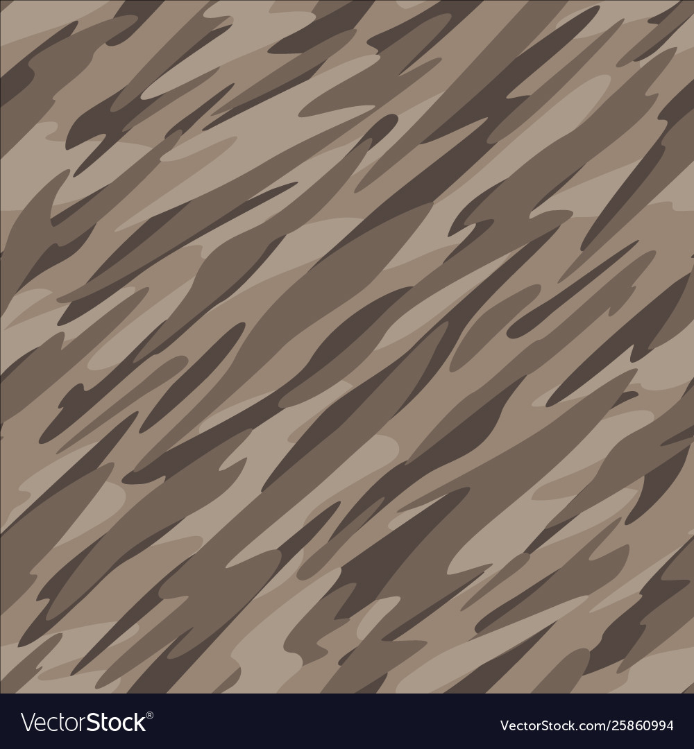 Desert camouflage seamless repeating pattern vector