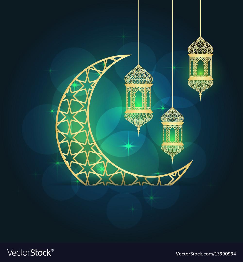 Ramadan greeting card royalty free vector image ramadan greeting card vector image m4hsunfo