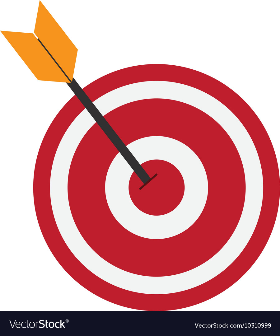 bullseye and arrow icon royalty free vector image clipart of eyebrows free clipart of an eye