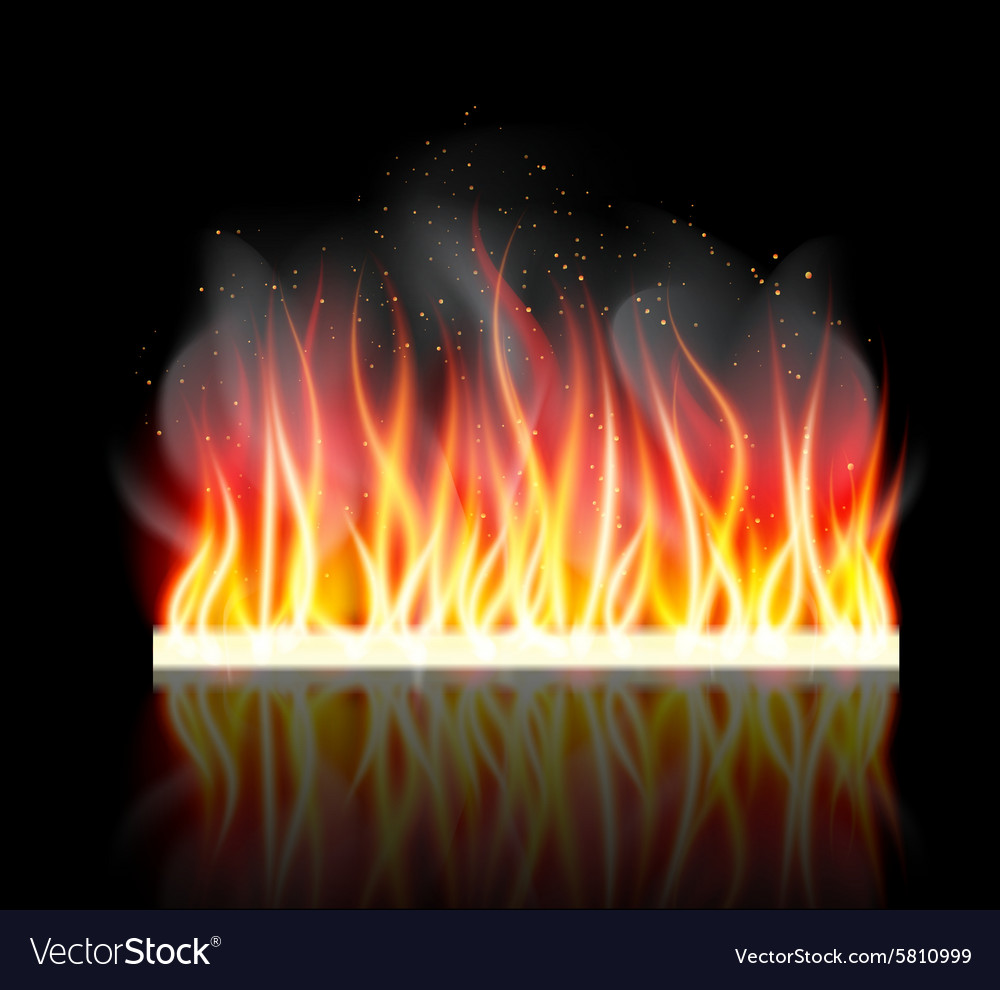 Burn flame fire background