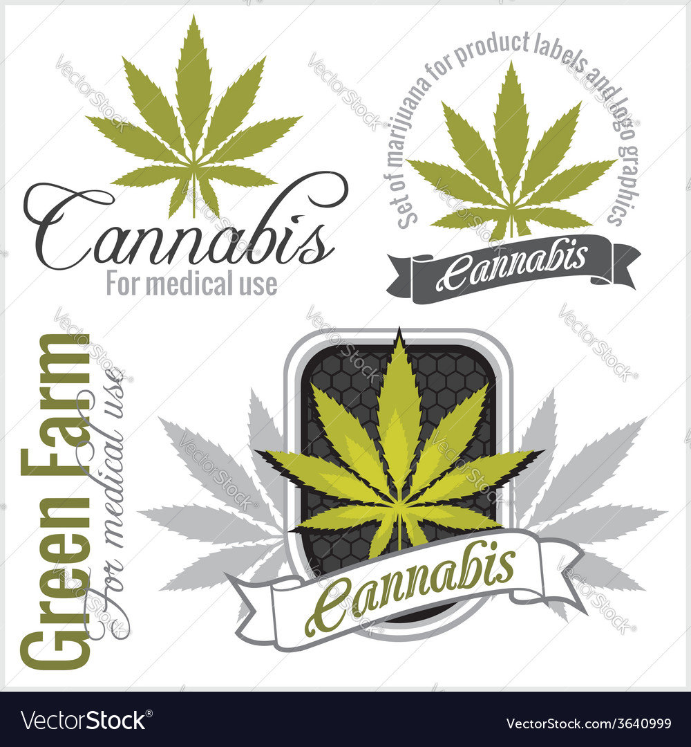 Marijuana - cannabis For medical use set