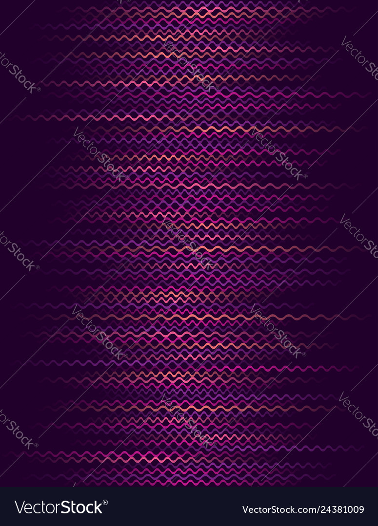 Background with purple horizontal wavy lines