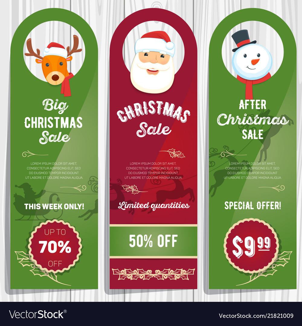 Christmas sale cards 01