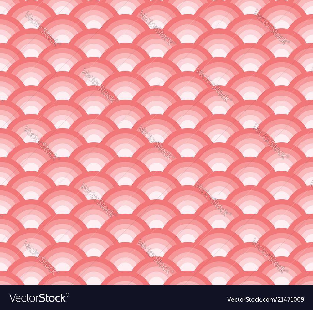 Seamless abstract modern geometric pink tone scale