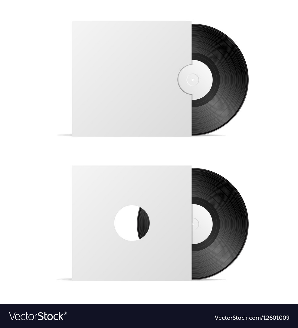 Vinyl Record Blank