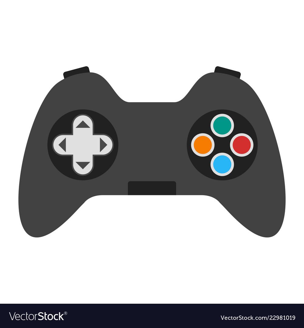 control pad icon royalty free vector image vectorstock
