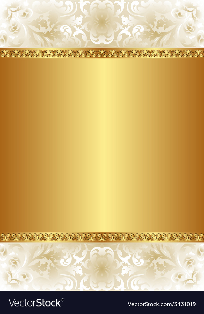 Golden Background Royalty Free Vector Image