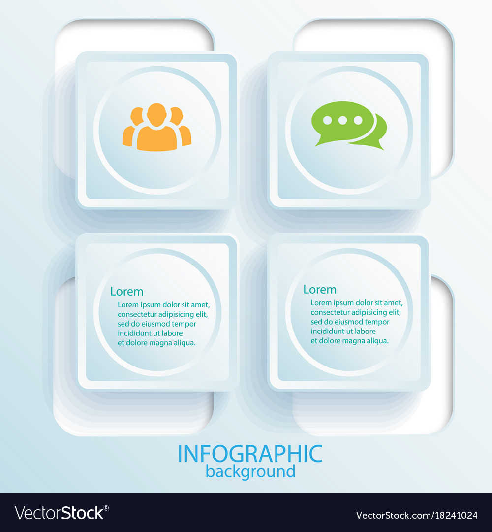 Abstract business infographic design concept