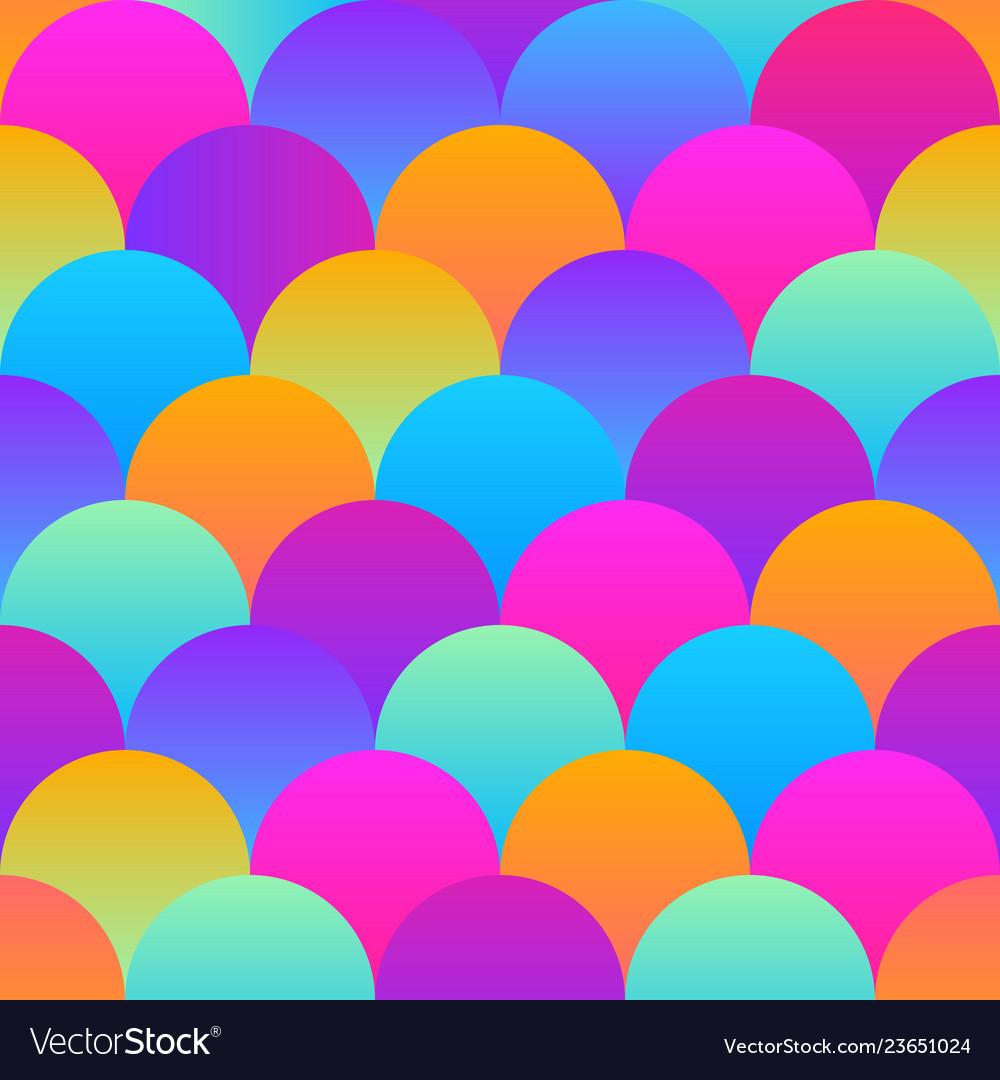 Trendy material design seamless pattern