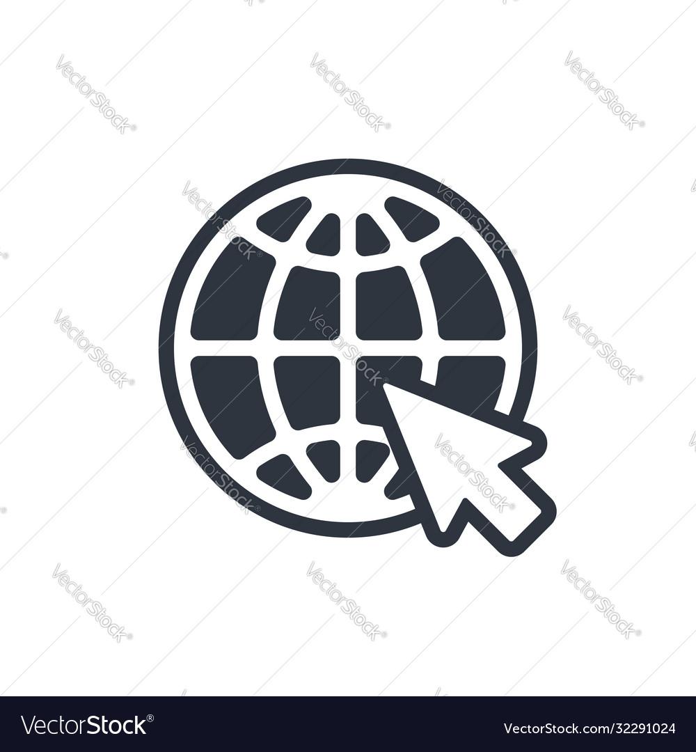 Web icon website pictograph internet symbol
