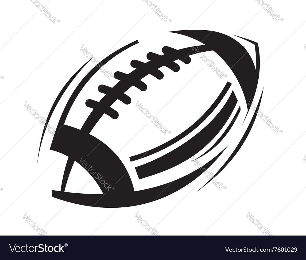 Black football icons